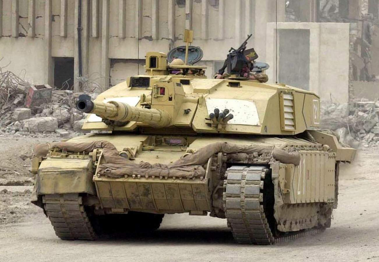 Britain's Royal Army Wants to Build Tanks With Electric Motors