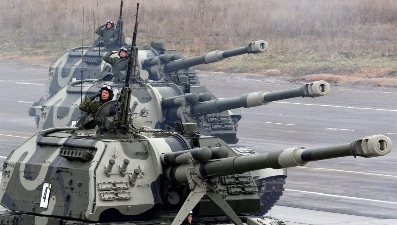 Sad Fact: Russia's Artillery Are Bigger and Badder Than America's