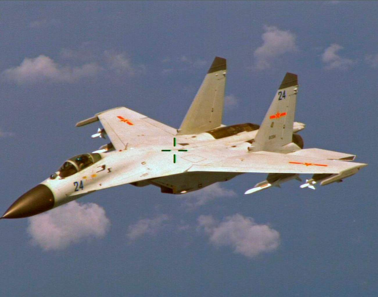 Caught: China's J-11 Fighter Sure Does Look Like a Copy of Russia's SU-27 'Flanker'