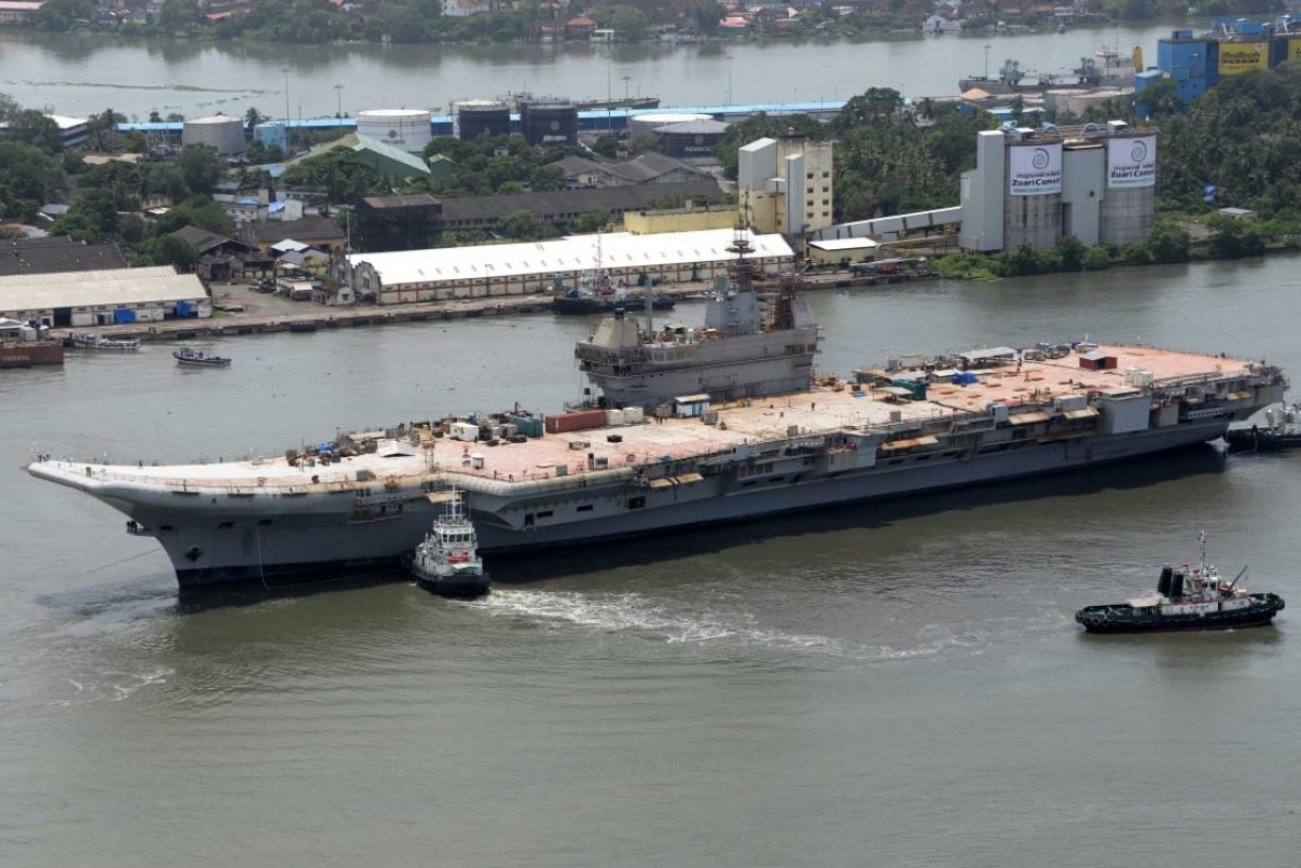 After 60 Years, India Knows How to Use Aircraft Carriers to Its Advantage