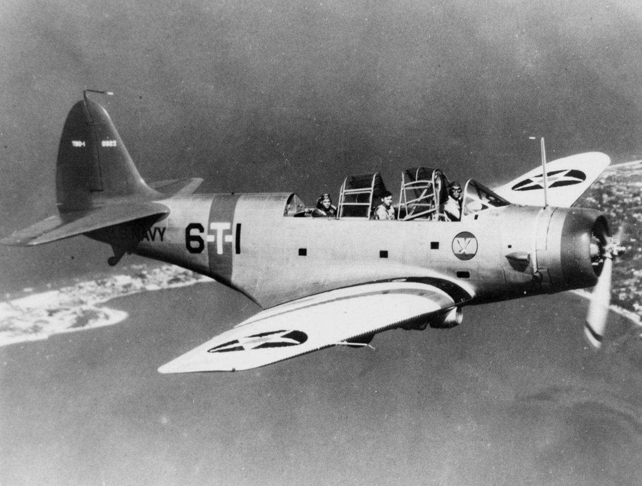 How the Douglas TBD-1 Devastator Helped Win the Battle of Midway
