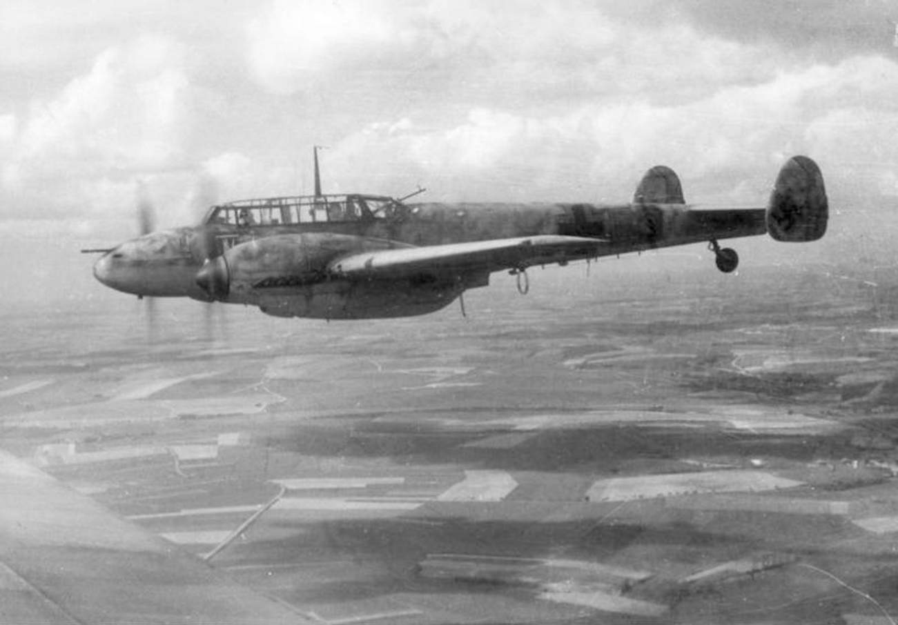 The Failure of Nazi Germany's BF 110 Bomber Was Epic