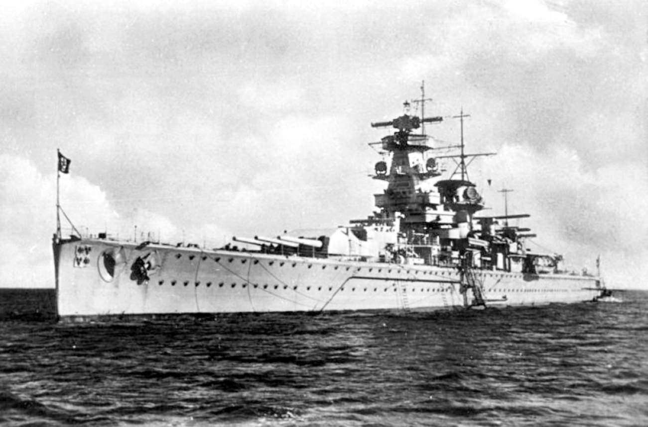 See This Battleship? Britain Tricked a Nazi Captain To Sink His Own Ship.