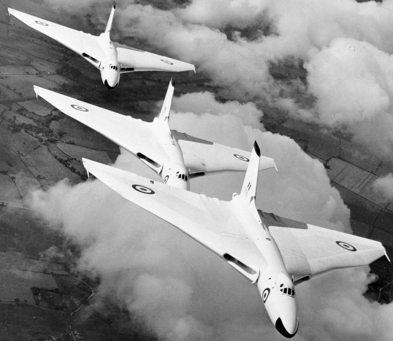 What Happened to the Royal Airforce's V Bombers?
