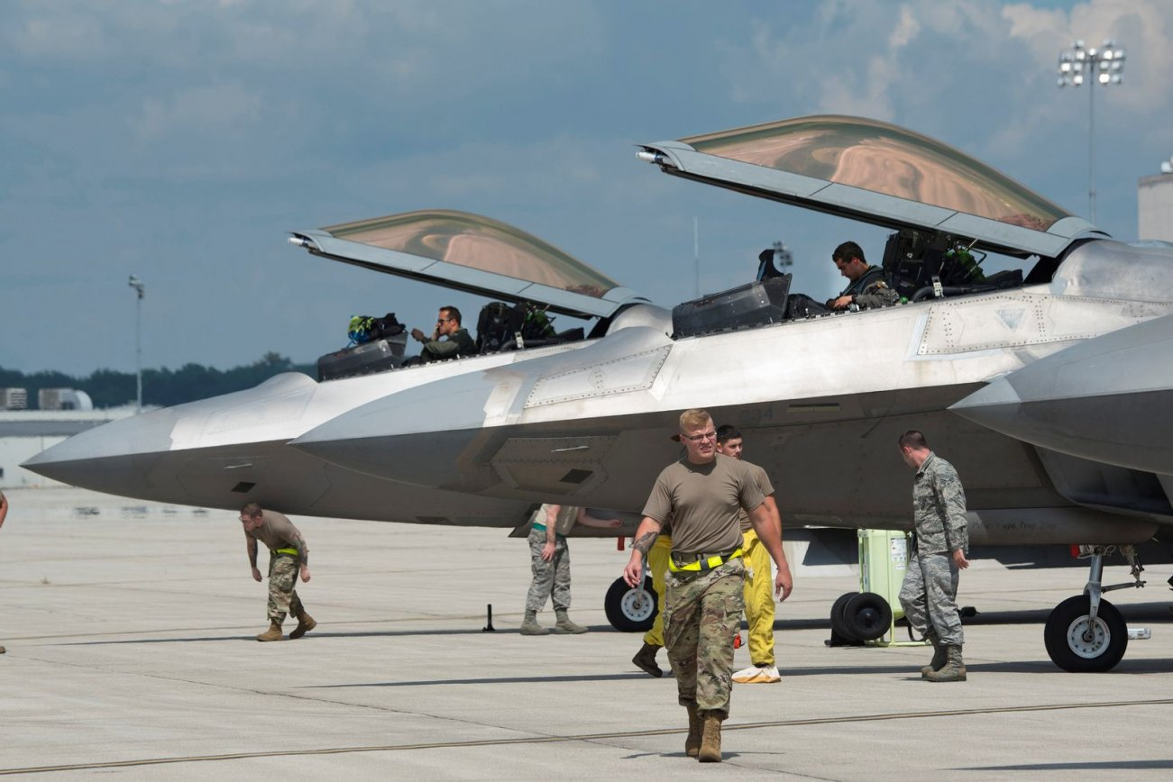 Yes, the F-22 Would Fight in a Major War Against China