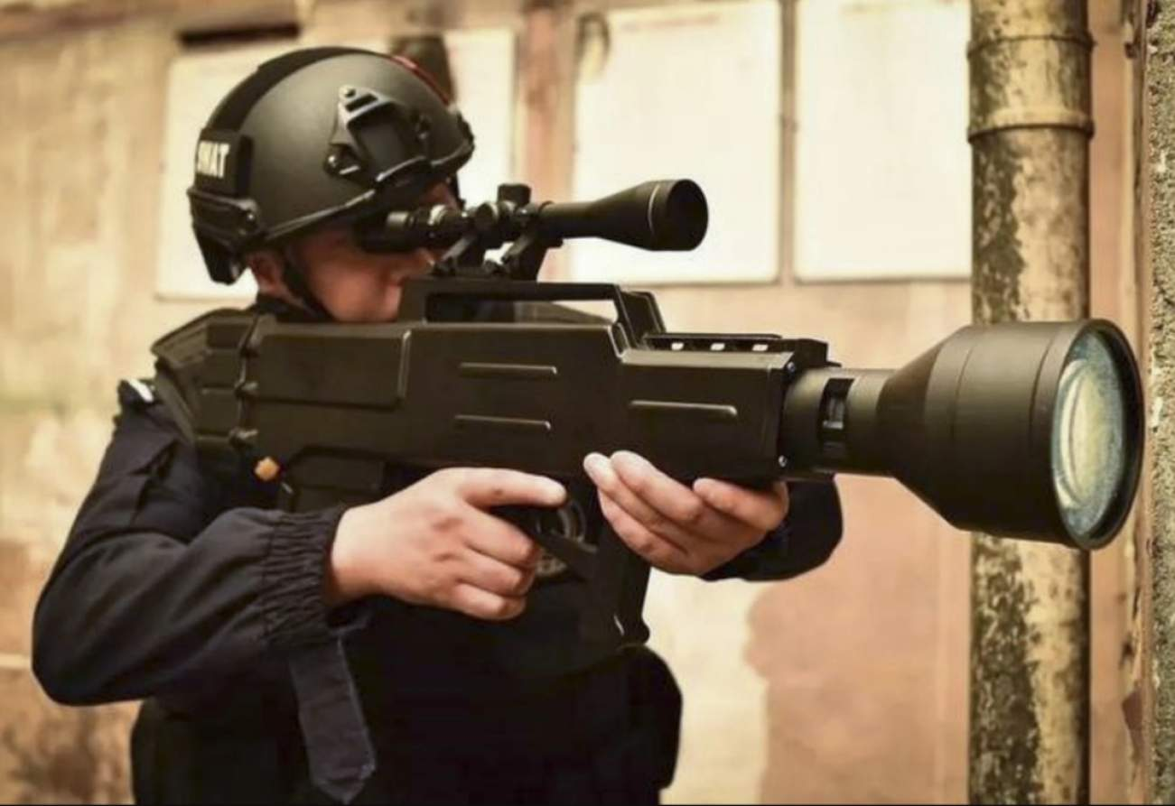 POW: China Says This New 'Laser Rifle' That Can Shoot 800 Meters