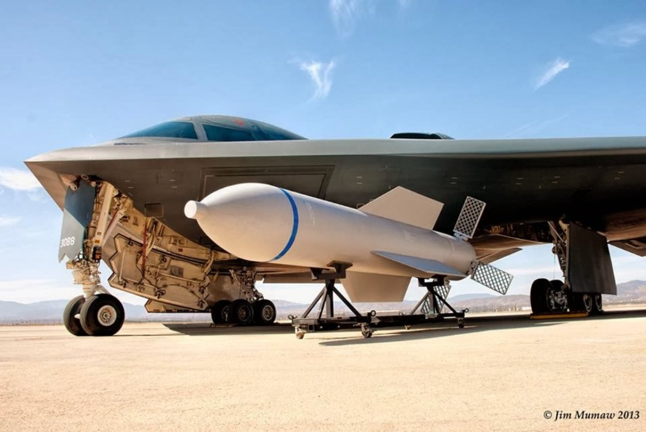 Caught on Tape: Watch a B-2 Bomber Drop a Bunker-Buster Bomb