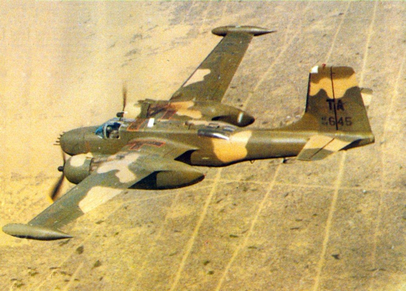 """""""Counter Invader"""": Meet the Vietnam War's Douglas B-26K Bomber"""