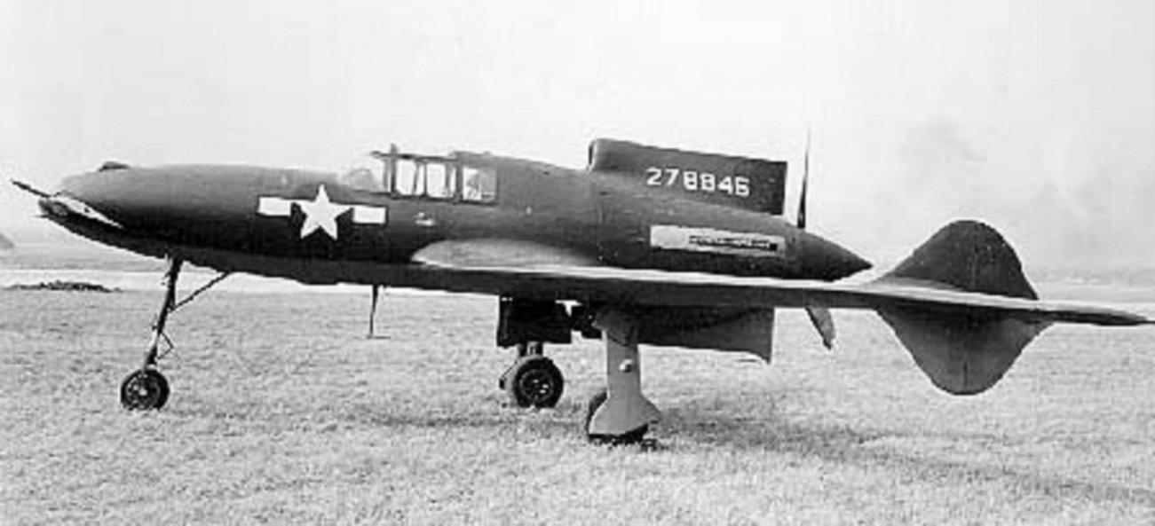XP-55 Ascender: Interesting Looking, But One Really Mediocre Plane