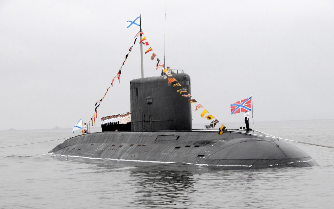 New 'Black Hole': Russia Readies Another Stealth Kilo-Class Submarine