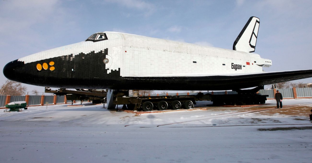 This Was Russia's Sad Space Shuttle. It Never Made It Into Space.
