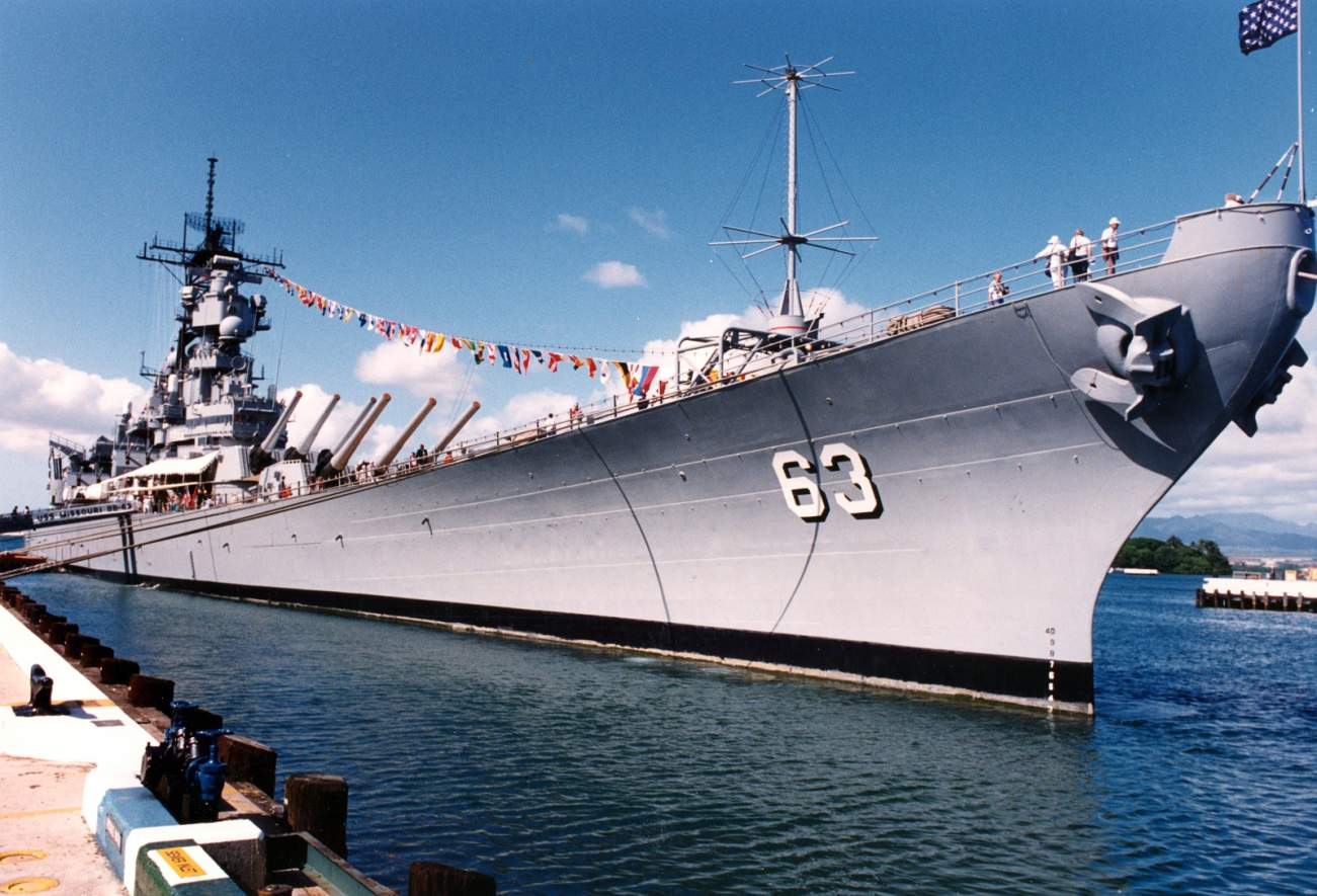 USS Missouri: The Battleship Japan Surrendered On (And the Ultimate Warship?)