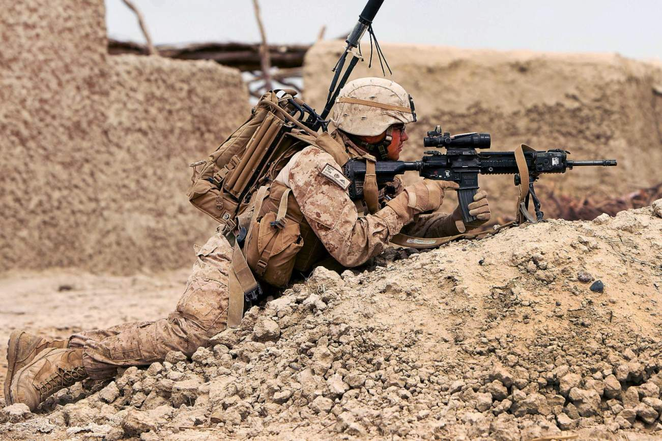 The U.S. Marines Cannot Get Enough Of The M27 Infantry Automatic Rifle