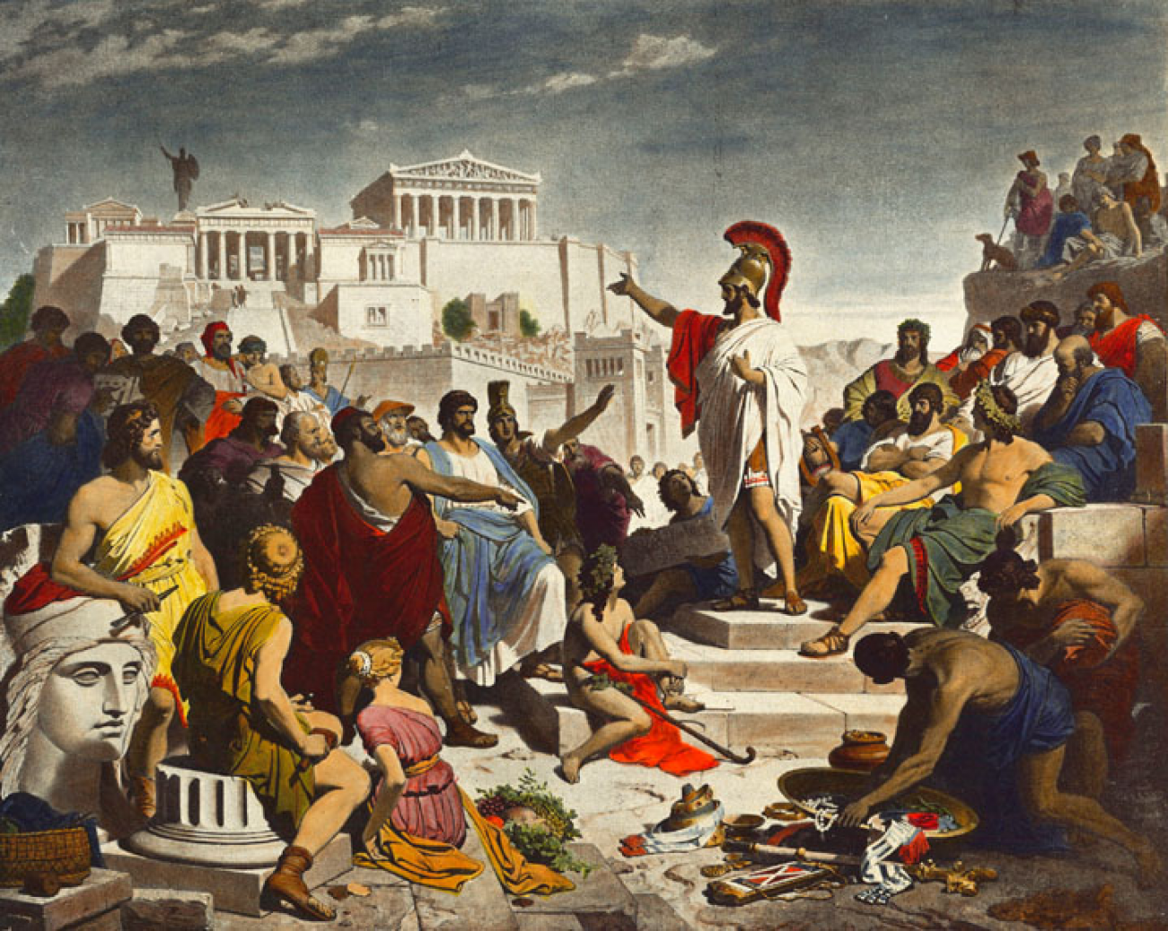 Does Ancient Greece Have The Answer To the Middle East's Problems?
