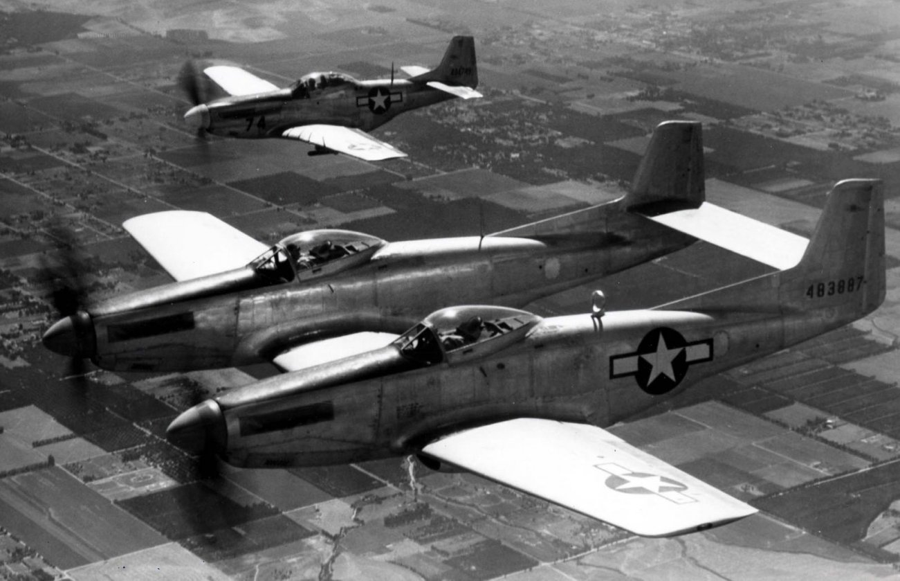 Two Mustangs: How the F-82 Fighter Was Born
