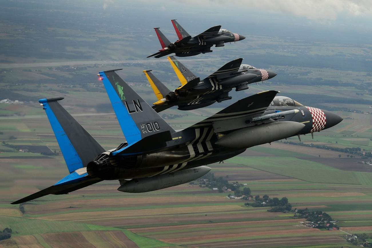 F-15s, F-22s and F-35s Are Training to Refuel and Rearm Fast (All Thanks to China?)