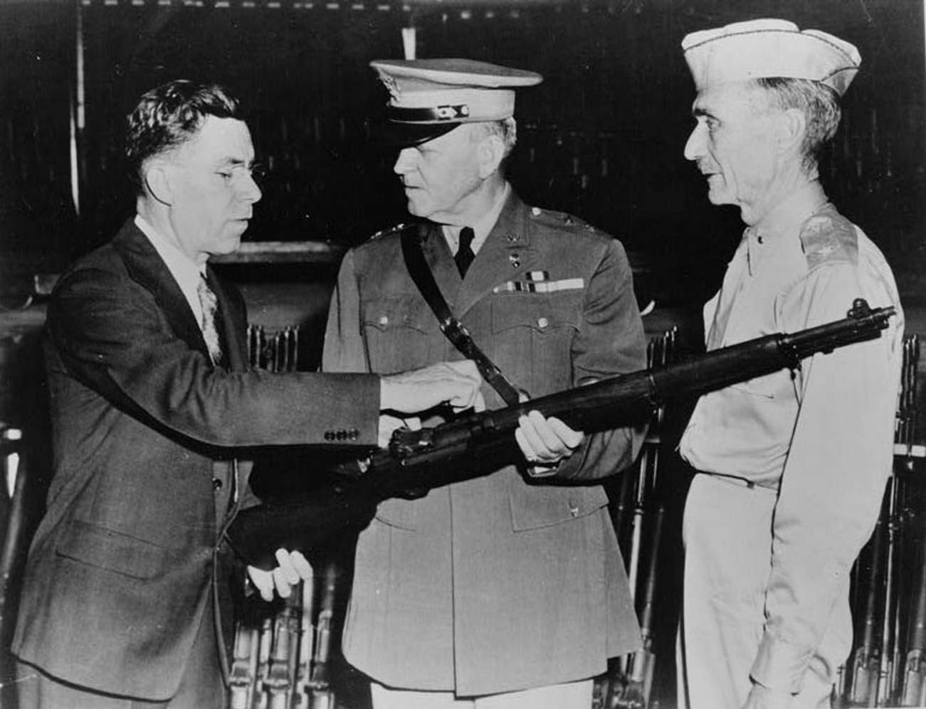 The Superiority of the M-1 Garand Rifle Is Not To Be Questioned