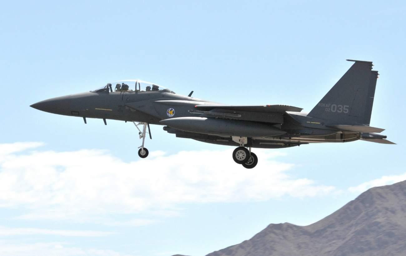 South Korea's F-15K Slam Eagle Fighters Could Make North Korea Hurt