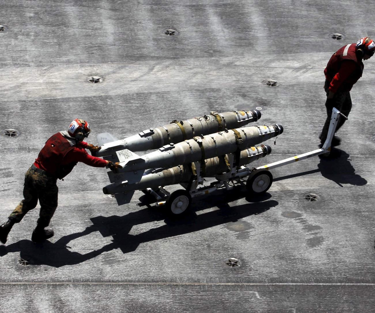 See These Bomb? They Could Sink China's Aircraft Carriers