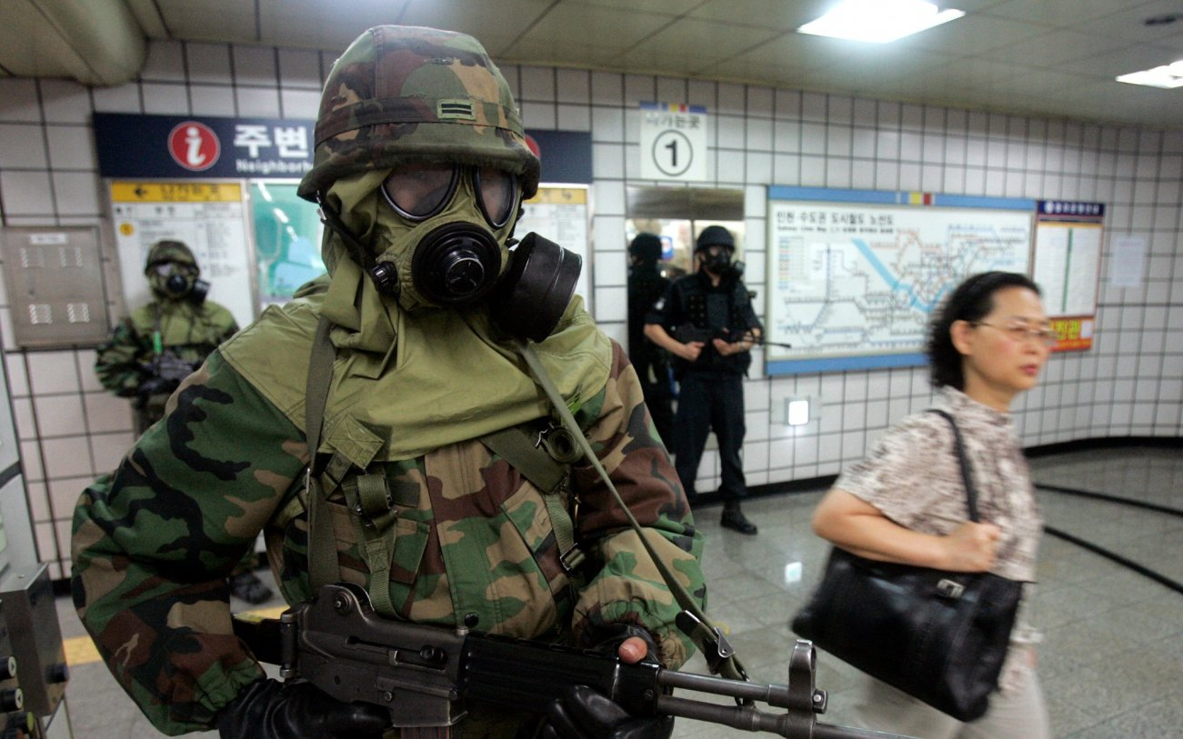 Forget the Nukes: North Korea Has 5,000 Metric Tons of Chemical Weapons