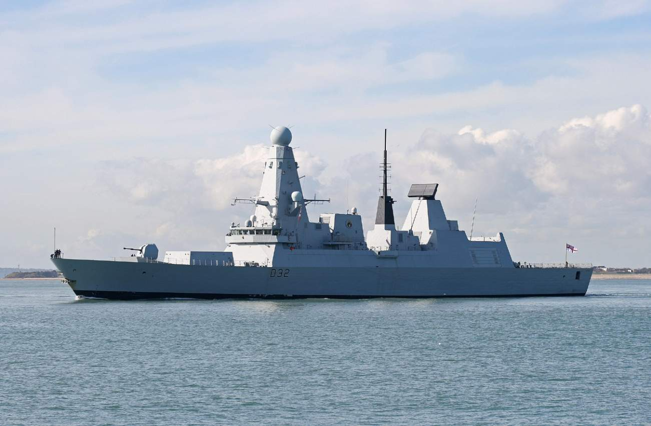 Why The Royal Navy Is Going All-In On Its New Type 45 Destroyers