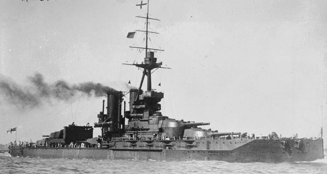 "Britain's ""Super Dreadnought"" Iron Duke Battleship Was a World War I Monster"