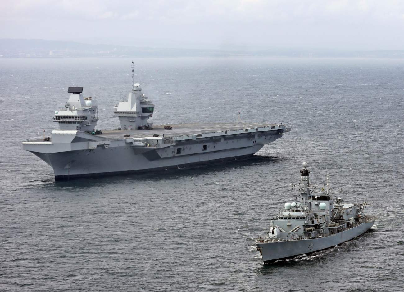 The Royal Navy Has A Crazy New Idea To Build Aircraft Carriers In A Hurry
