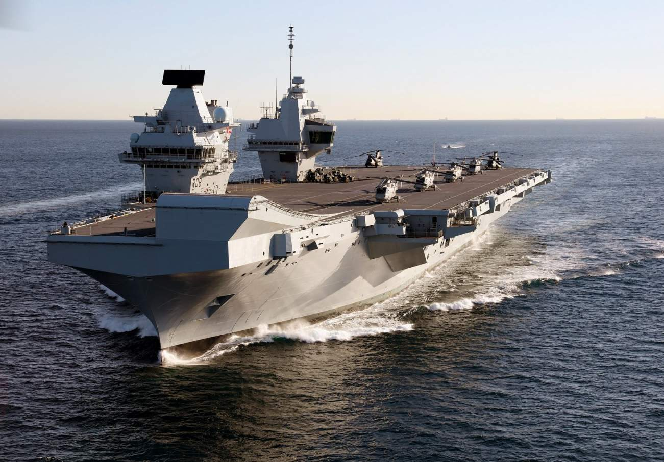 Aircraft Carrier Showdown: The Falklands War Nearly Set A World-First Record For Naval Warfare