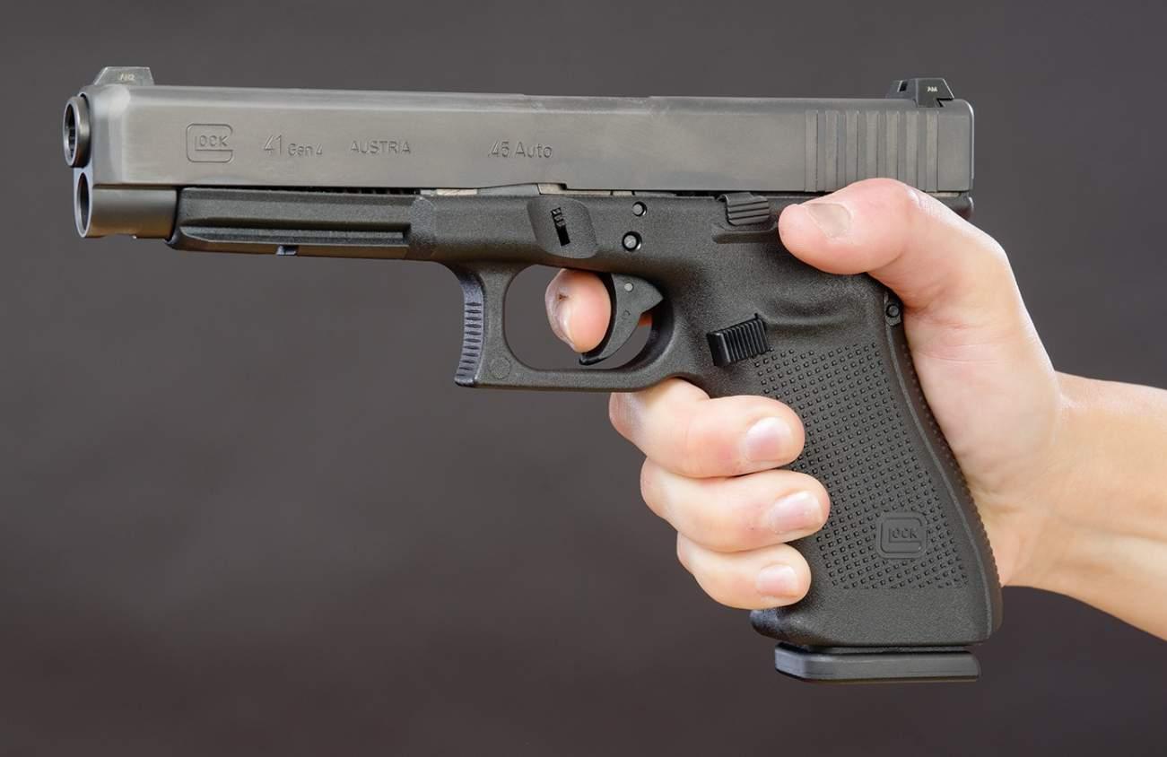 Big Glock: Meet the Glock 41 (A .45 Caliber Cannon)