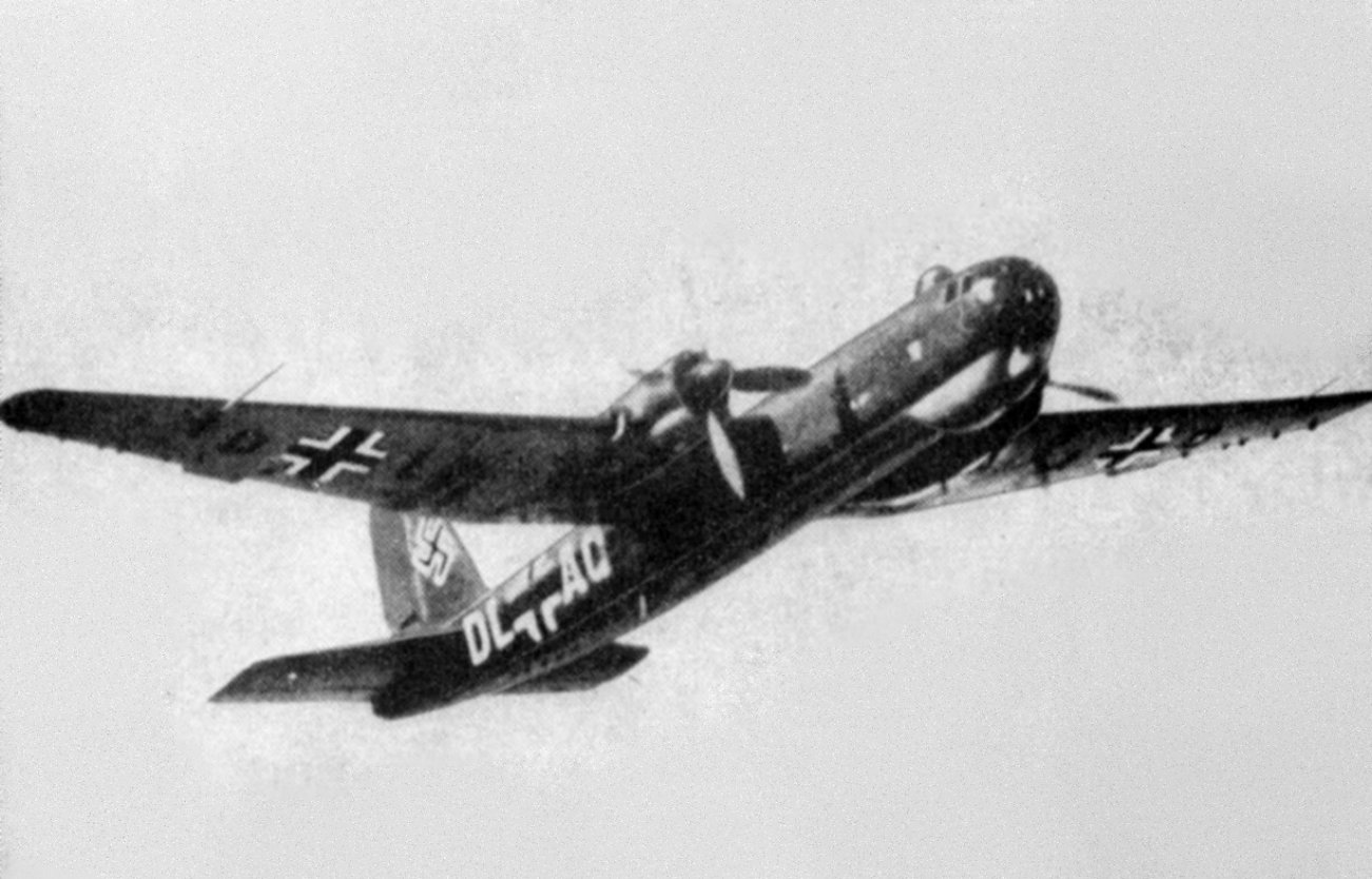 Nazi Germany's Worst Weapon Ever: The Flying Coffin Bomber