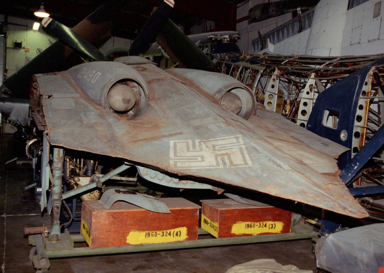 Adolf Hitler's Ho 229 Nazi 'Stealth' Fighter Was Very Real (This Picture Proves It)