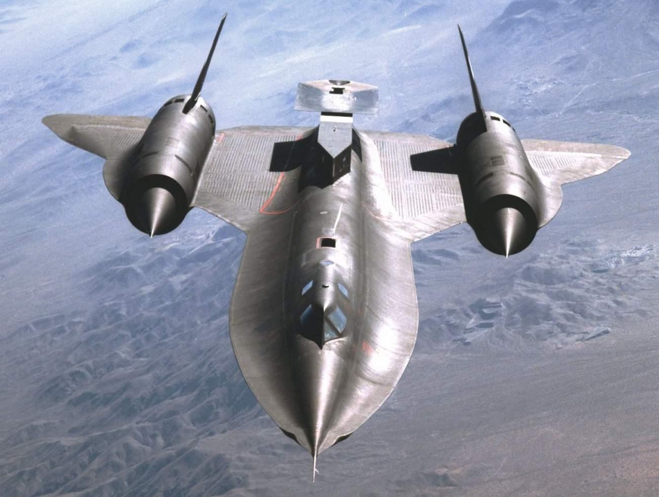 A Former Foxhound Pilot Explains How to Catch and Shootdown a SR-71 Blackbird Spy Plane