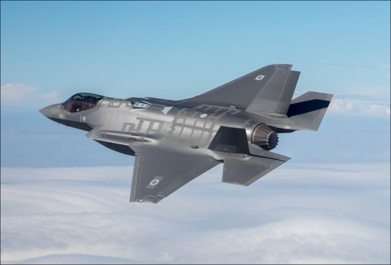 Israel's New F-35s Are Holding Iran At Risk Like Never Before