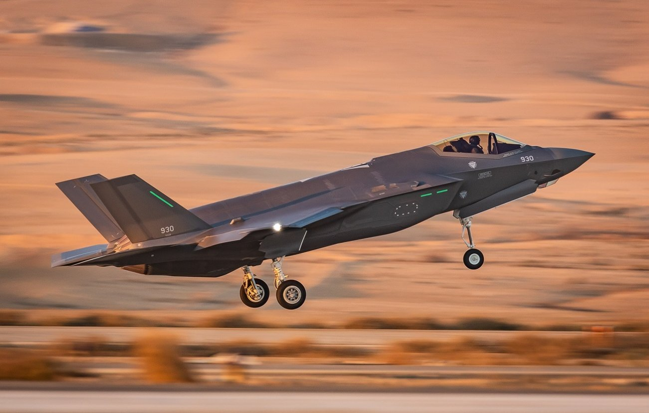 Israel's New War Plan for Iran (And More): Stealth F-35I Fighters and Lots of Tech