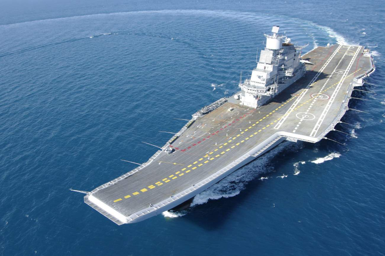 Buyer Beware: India's Russian-Made Aircraft Carrier Was A Hunk Of Junk