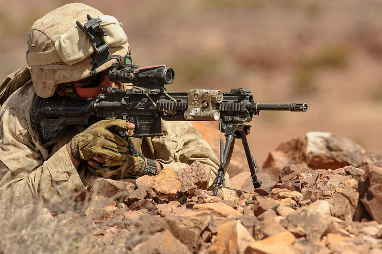 Why the Marines Want a Piece of the Army's Lethal New Sniper Rifle