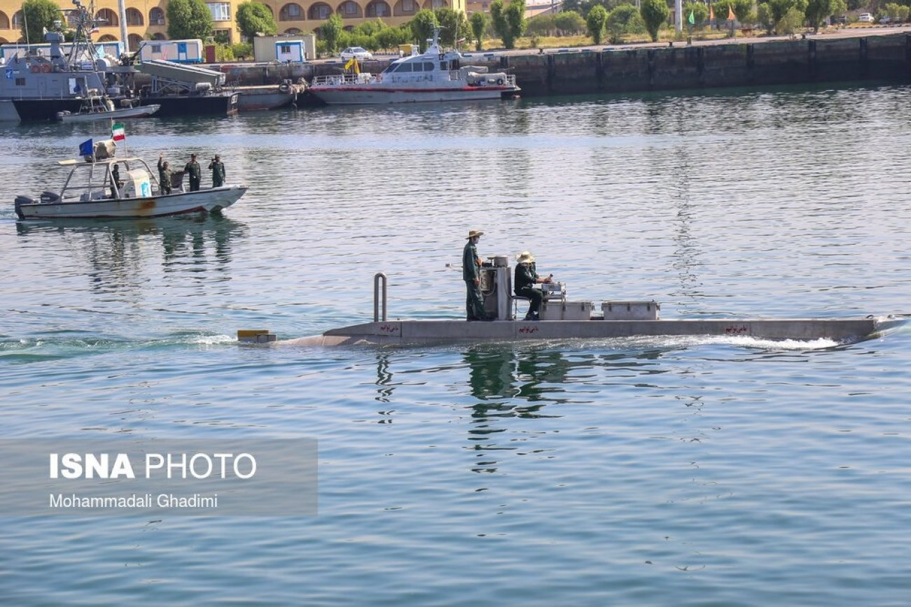 This Odd-Looking Submarine Might Be Iran's Latest Weapon