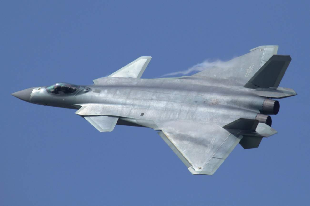 China's J-20 Stealth Fighter Has One Big Advantage Over America's F-22 And F-35
