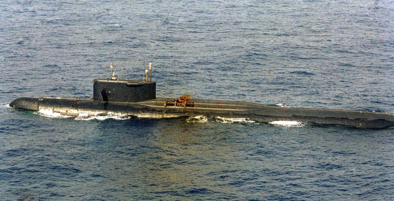 This Russian Missile Submarine Split In Two and Sits 18,000 Feet Below the Waves
