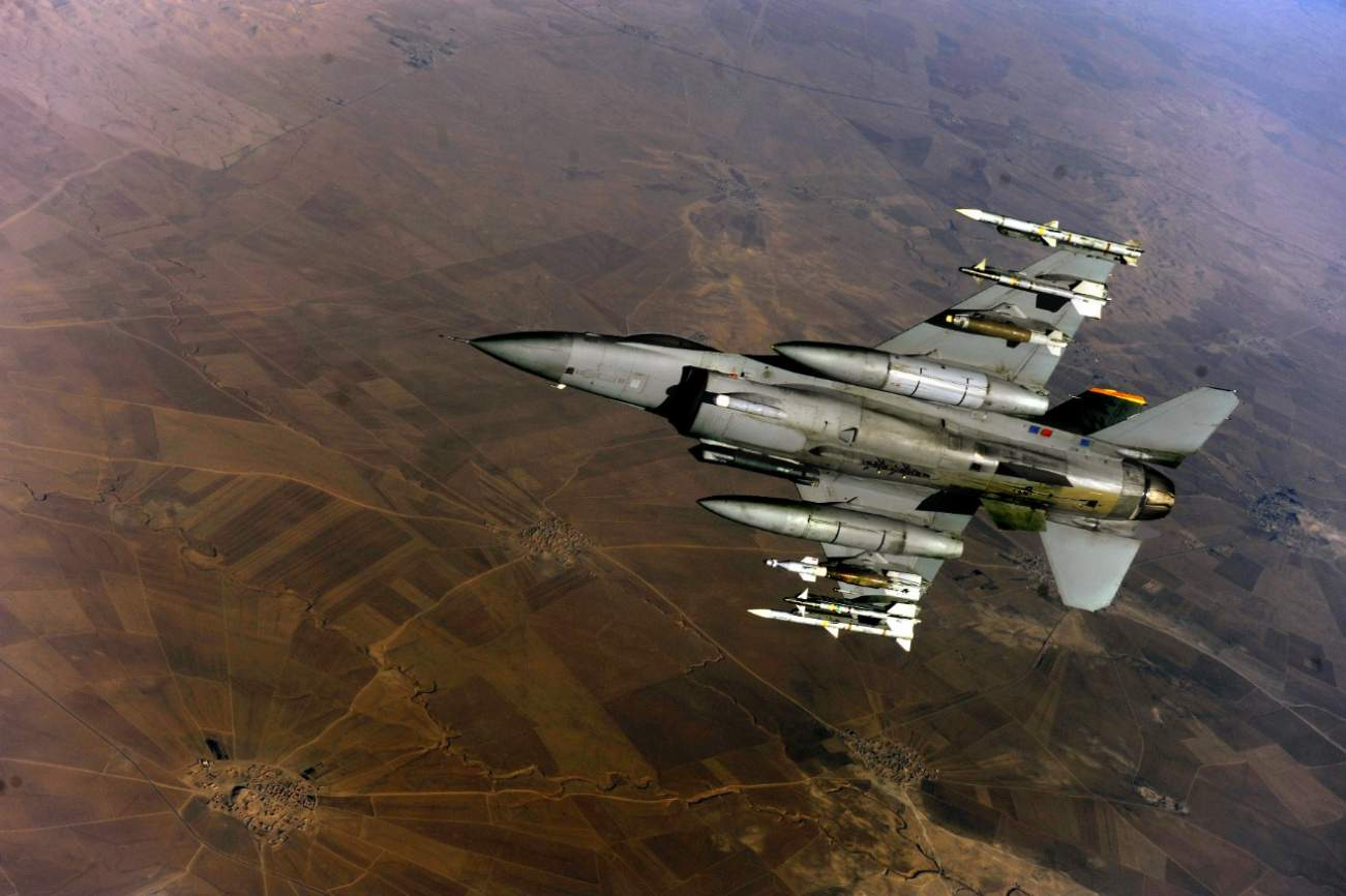 New Radars On F-16 Jets Could Transform Them Into Drone and Cruise Missile Killers