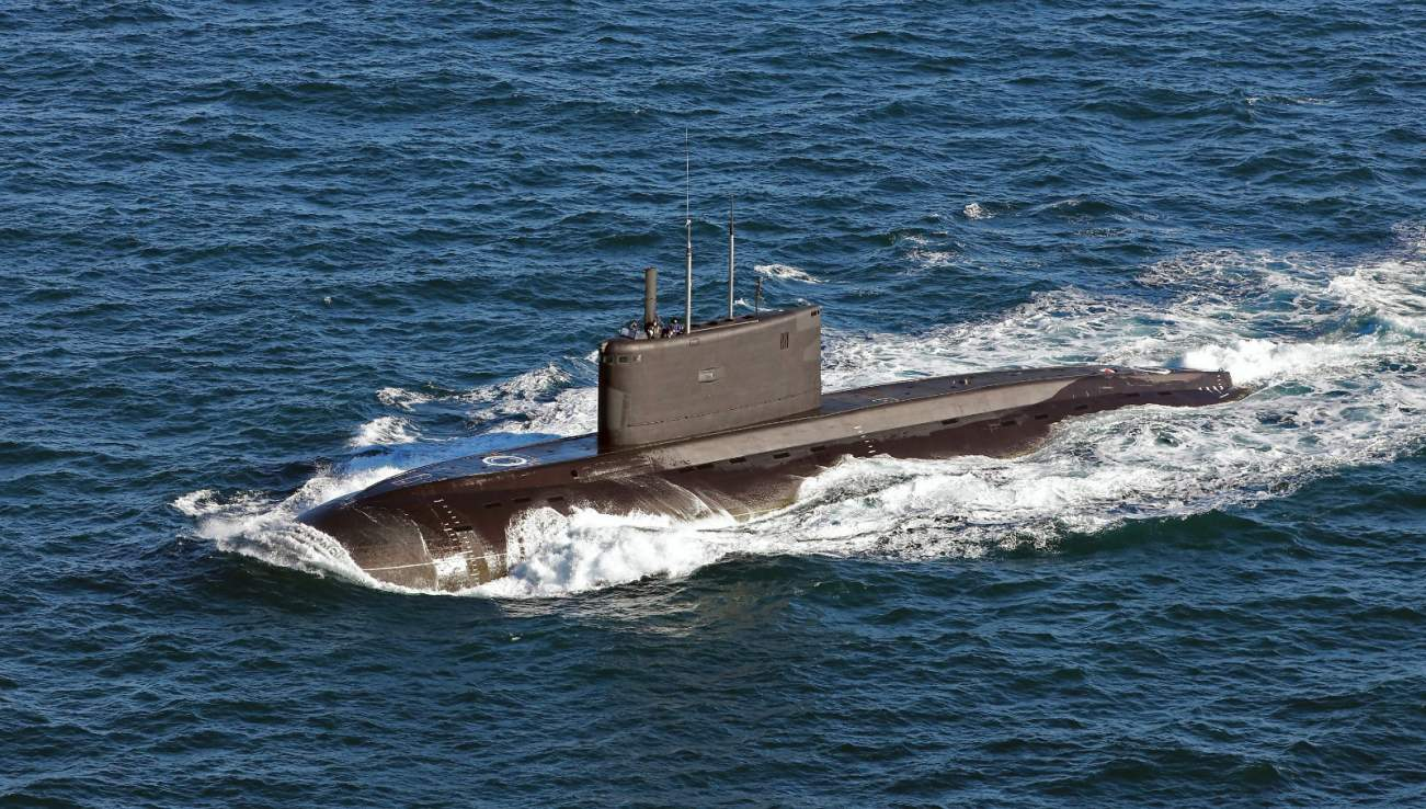 See This Picture? Some Consider This the 'Black Hole' Russian Submarine