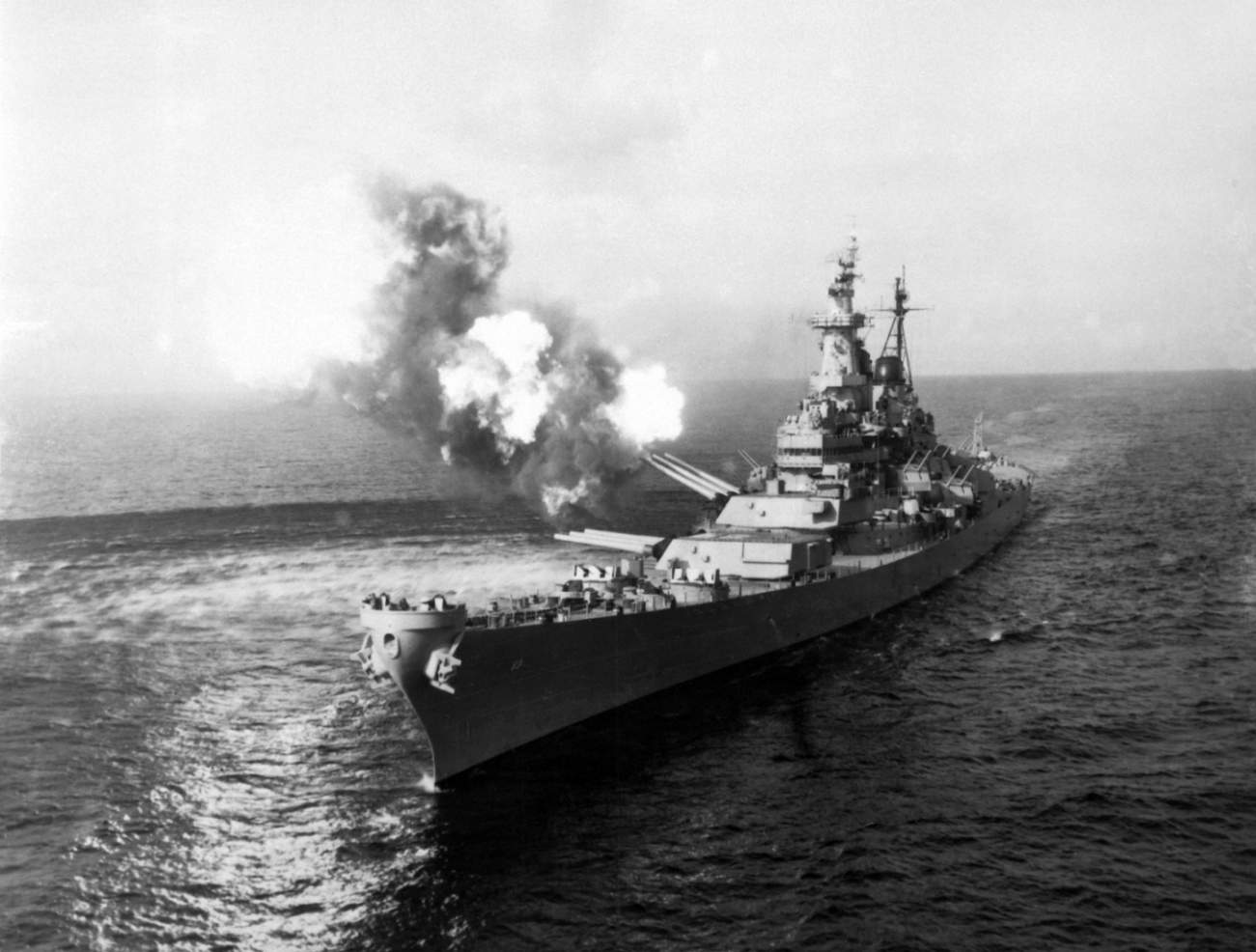 See This Battleship? It Smashed North Korea (And the U.S. Navy Had 4 of Them)