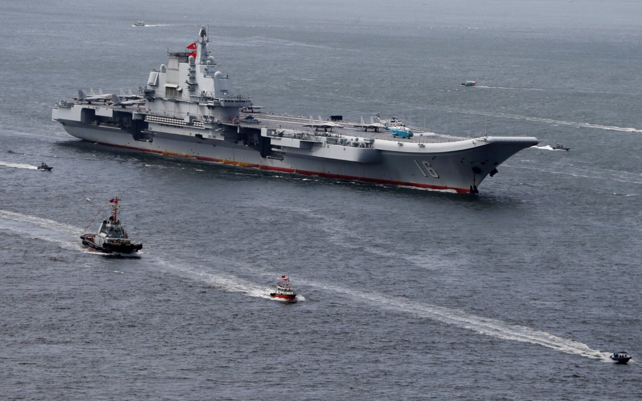 How Did China Acquire Its First Aircraft Carrier?