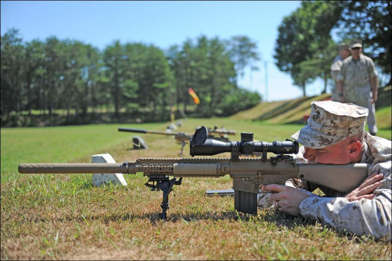 Super Sniper: The 5 Best Marksman Rifles On the Planet Right Now
