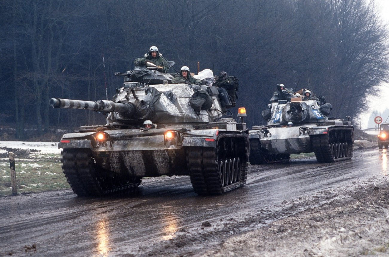 America's M60 Patton Is A Reliable Killer, But It's Old Armor Is Vulnerable
