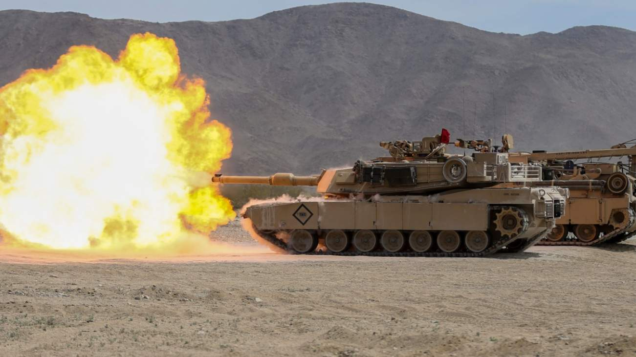 BANG: The Army Now Has A Brigade Equipped With new M-1A2C Abrams Tanks