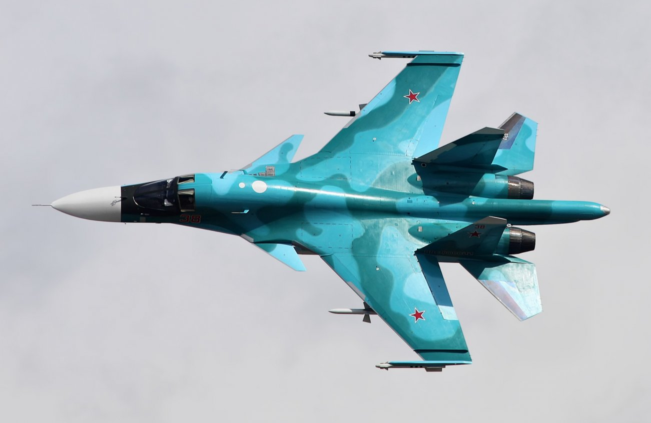 Not an F-35, But a Real Killer: Meet Russia's Su-34 (Battle Tested in Syria)