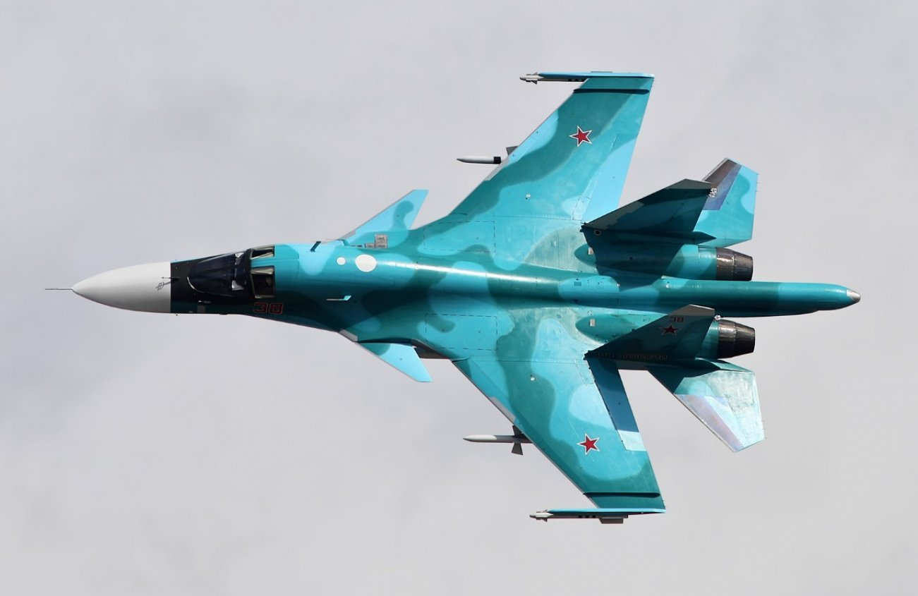 Russia's All-Weather Sukhoi Su-34 Just Fought In The Stratosphere