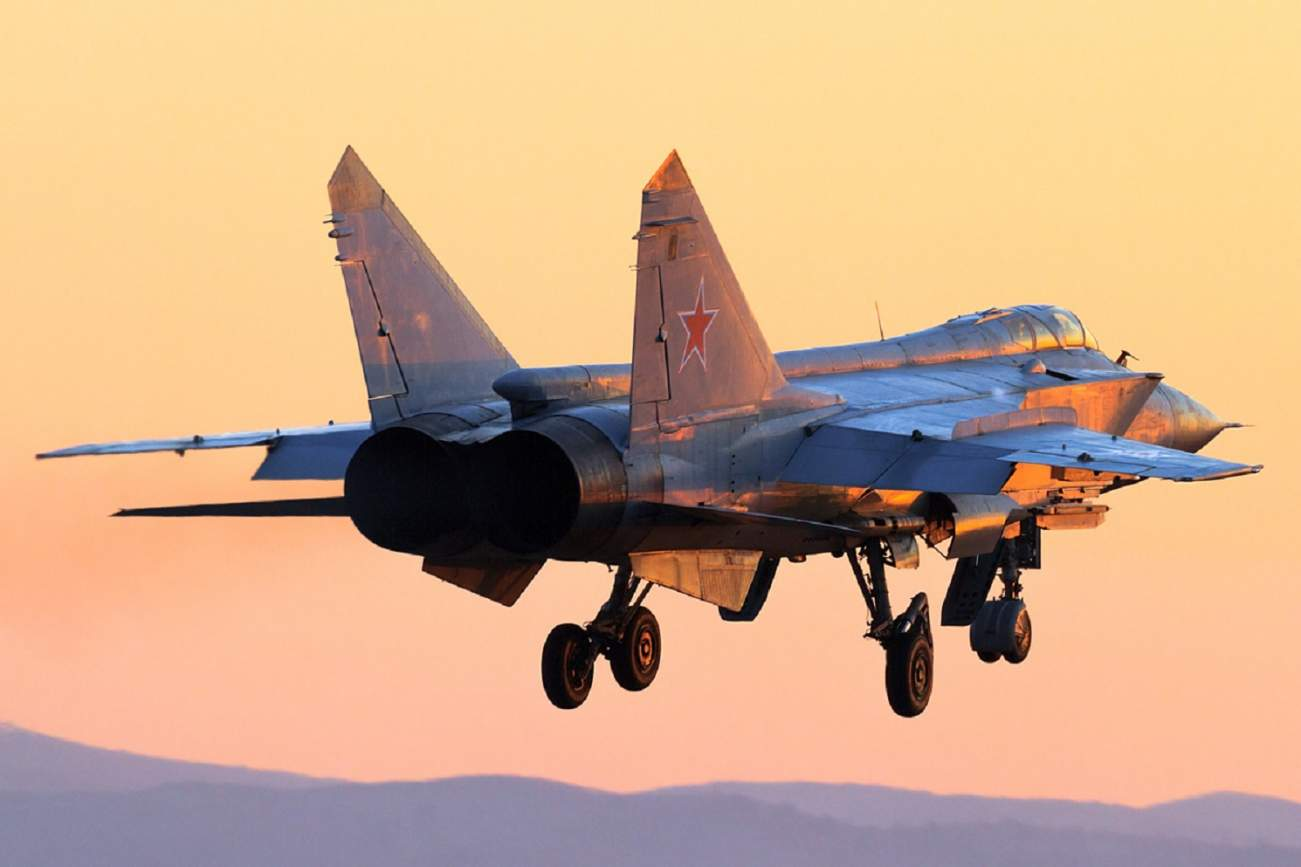 Russia's MiG-31 Might Have a New Mission: Kill American Satellites