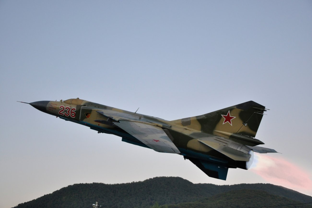 Russia's MiG-23 Was a Real 'Flying Coffin': The Engine Had Explosion Problems
